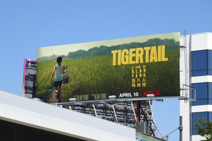 Tigertail Netflix film billboard
