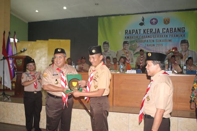 Yonarmed 13 Kostrad Jadi Tuan Rumah Rakercab Kwartir Pramuka Se-Kabupaten Sukabumi