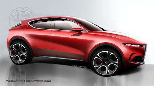 Alfa Tonale Concept Side