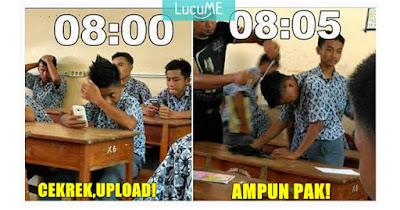 15 Meme 'Suka Duka Masa SMA' Ini Kocak Banget, Bikin Kangen