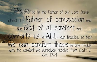 The God of all comfort comforts us