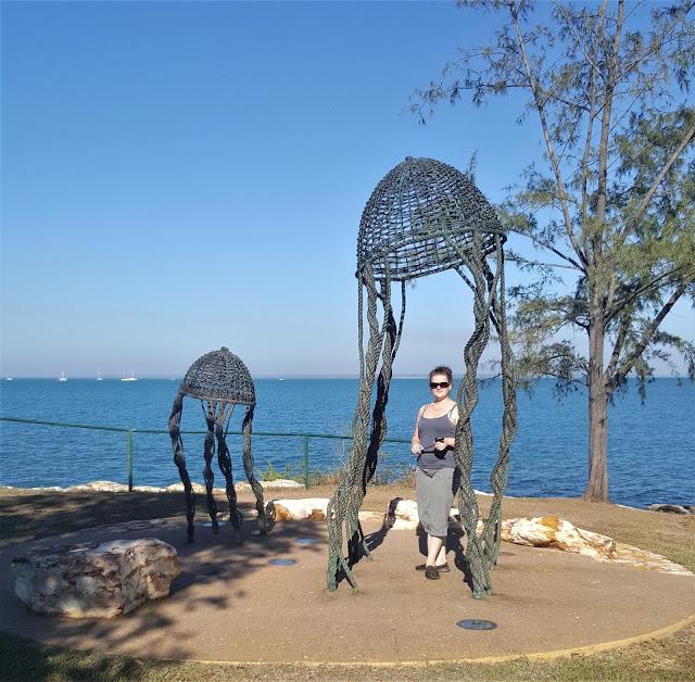 Darwin Public Art   Fanny Bay sculpture by Aly De Groot