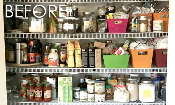 pantry organization ideas for cans and jars