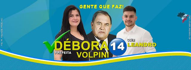 Débora Volpini é eleita prefeita de Jacupiranga