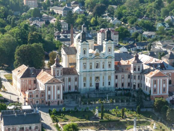 Кременець. Вид з гори Бони (Замкової)