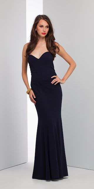 vestidos con corset largos
