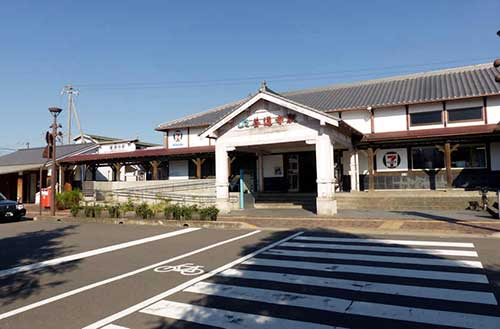 JR Zentsuji Station.