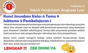 Kunci Jawaban Kelas 6 Tema 9 Subtema 3 Pembelajaran 1 www.simplenews.me