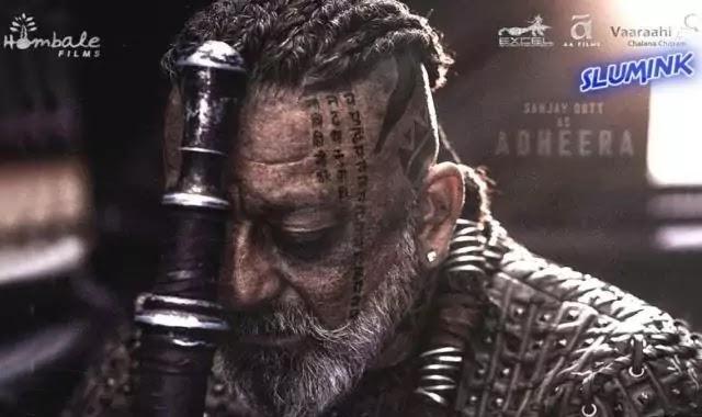 K.G.F Chapter 2 में Sanjay Dutt का खतरनाक Look, Movie की Poster को मिल रहा Million Like