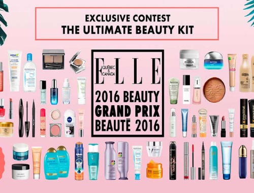 ELLE Ultimate Beauty Kit 2016 Grand Prix Giveaway