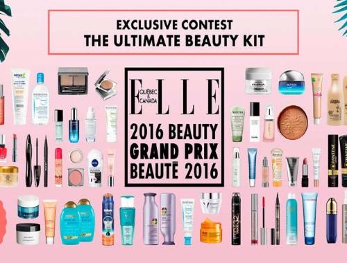 ELLE Ultimate Beauty Kit 2016 Grand Prix Giveaway