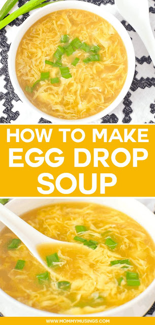 Homemade Egg Drop Soup Recipe | How to Make Egg Drop Soup