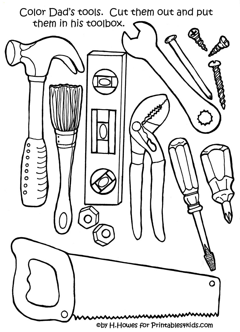 Father 39 s day activities and printables let 39 s celebrate for Kitchen worktop cutting template