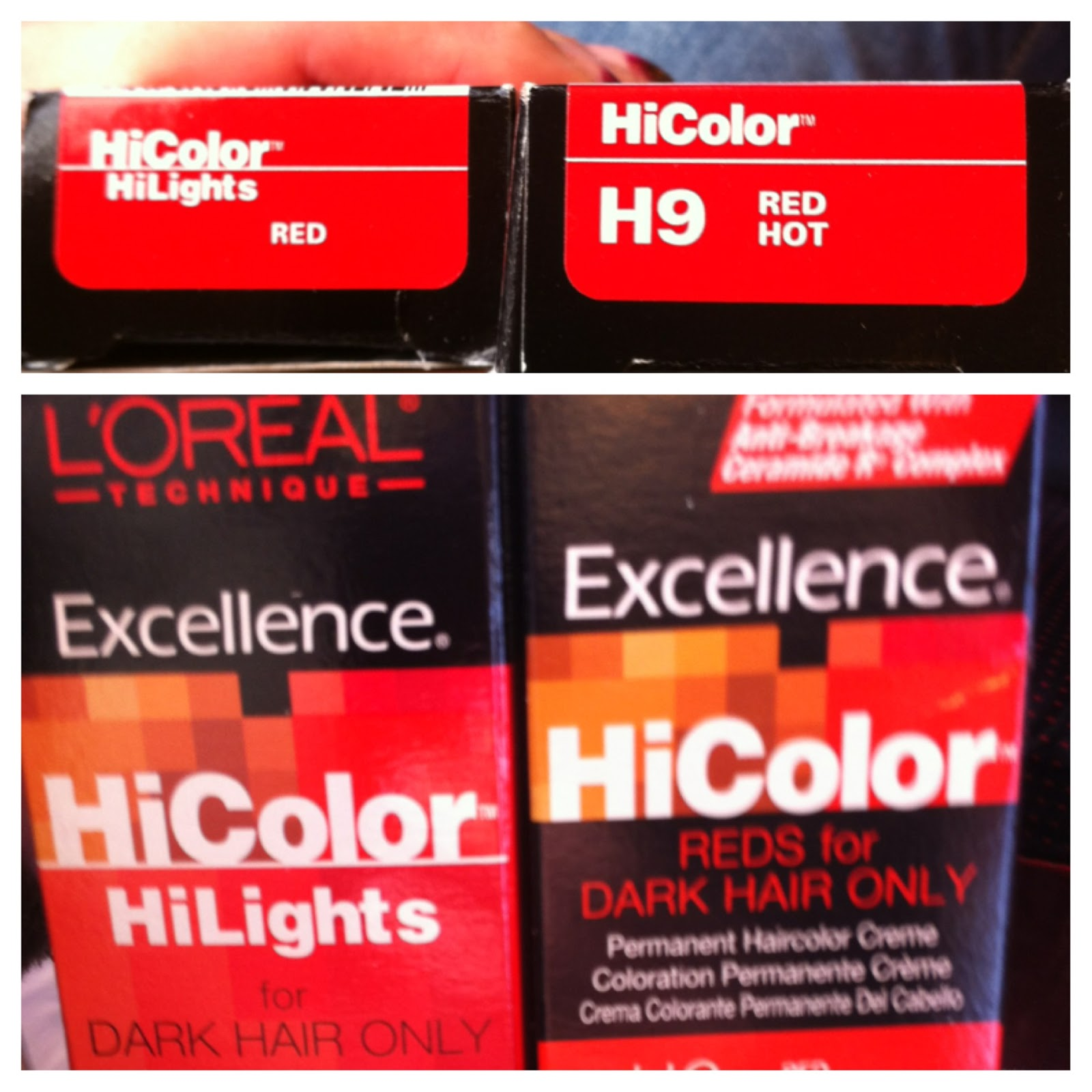 Loreal Excellence Hicolor Highlights Hairstyle Inspirations 2018