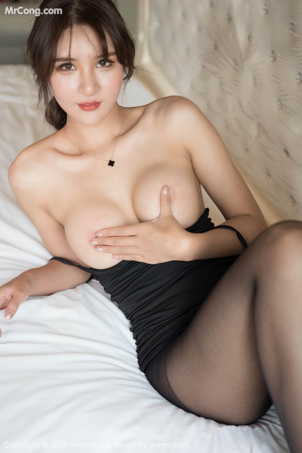 Image HuaYang-2018-11-14-Vol.095-SOLO-MrCong.com-027 in post HuaYang 2018-11-14 Vol.095: Người mẫu SOLO-尹菲 (46 ảnh)