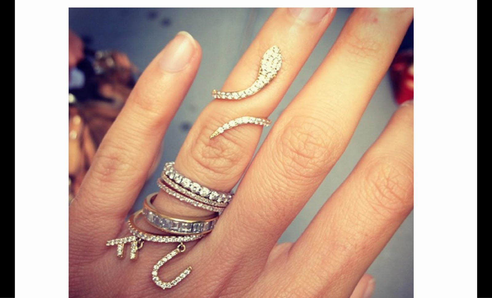 knuckle rings fuck you finger party