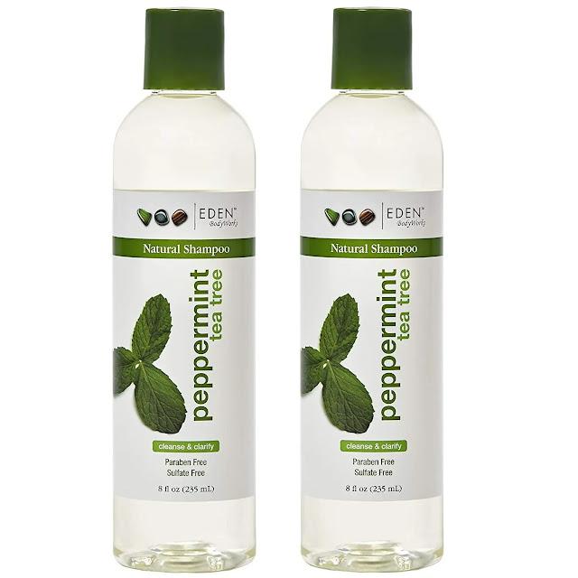 2- EDEN BodyWorks Peppermint Tea Tree Clear Shampoo
