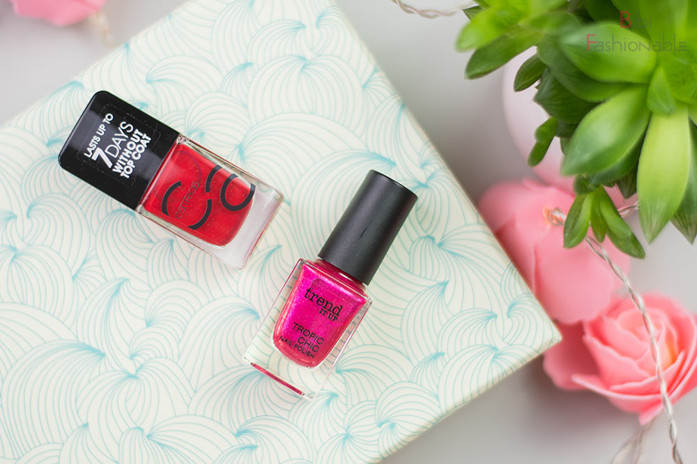 dm neue Beauty-Geheimnisse Unboxing Catrice Nailpolish Trend IT UP Tropic Chic Nail Polish