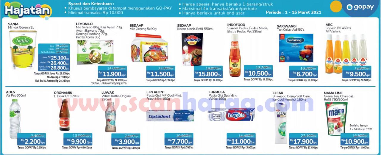Promo Alfamidi Hajatan GOPAY Periode 1 - 15 Maret 2021