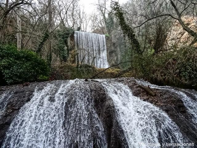 Resultado de imagen de Cascada de los Chorreaderos y la cascada Sombría