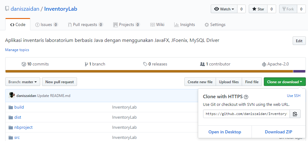Aplikasi InventoryLab JavaFX - Netbeans | Nexiapedia