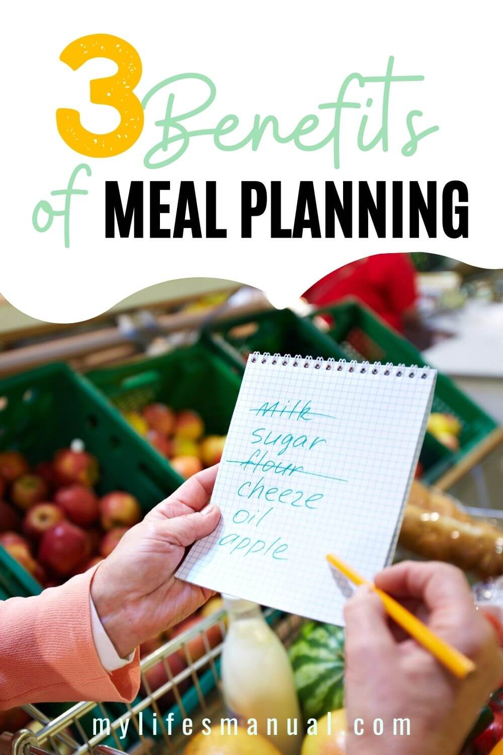 Meal planning benefits. Learn why you should get started with meal planning