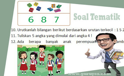 soal-tematik-kelas-1-tema-1-subtema-2