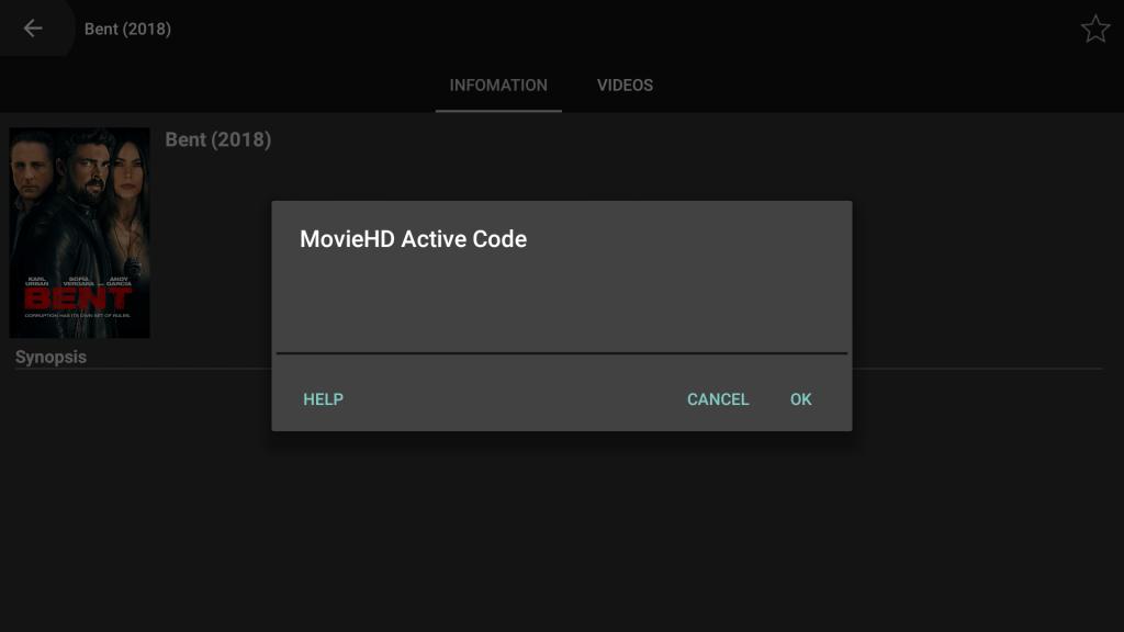 Get movie hd active code