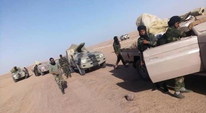 Intensos bombardeos al norte del Sáhara Occidental; Mahbes y Guelta Zemmur se encuentran bajo artillería saharaui.