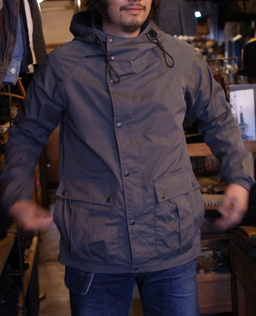Workers  Lt Mt Parka  Heather Grey PC Popplin