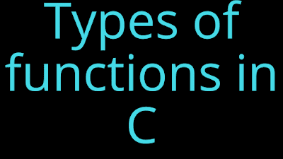 functions in c in hindi
