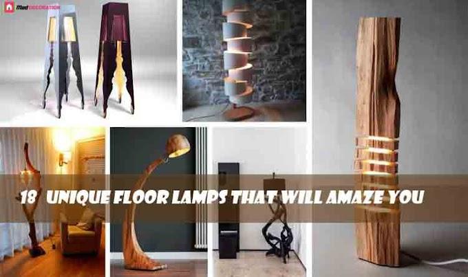 18 Unique Floor Lamps That Will Amaze You