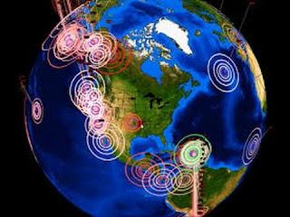 En menos de 20 minutos se han registrado 7 sismos atípicos en el país de México.