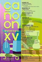 Festival Cañoon 2019