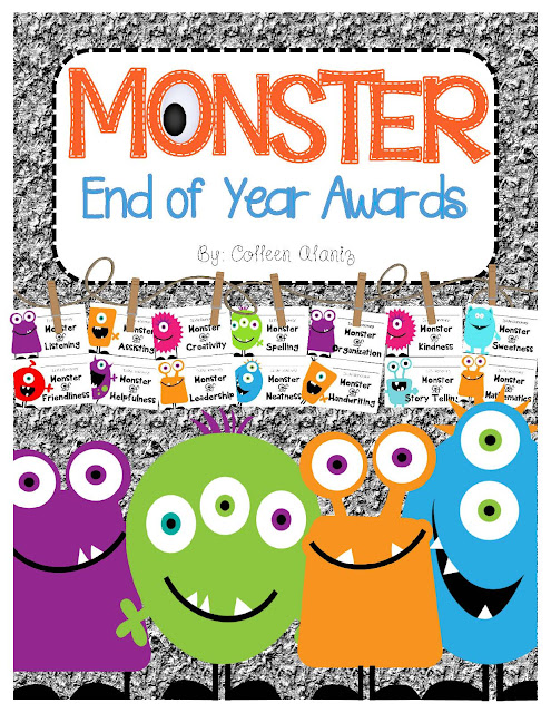 https://www.teacherspayteachers.com/Product/End-of-Year-Monster-Awards-1858704