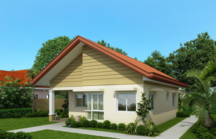 Sample House Design Bungalow floor plan standard second home – Sample House Designs And Floor Plans In The Philippines