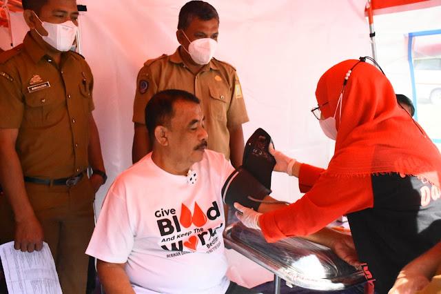 Ketua DPRD Apresiasi Donor Darah PMI Sinjai