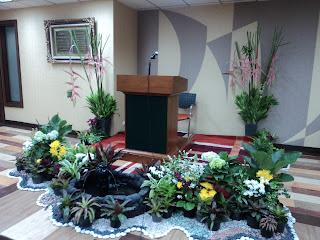 sewa tanaman hias / rental tanaman hias: contoh dekorasi