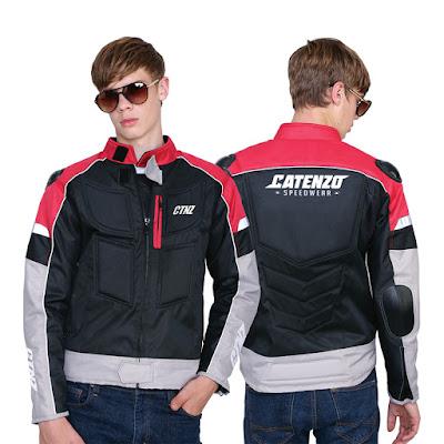 Jaket Touring Pria Cordura AL 011