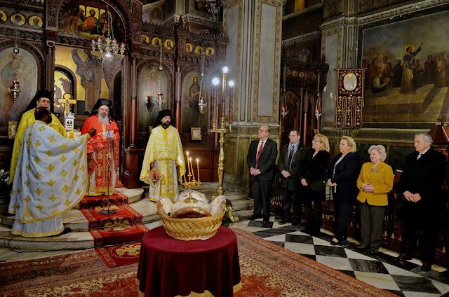 Τον πολιούχο Άγιο Αναστάσιο γιόρτασαν οι Ναυπλιώτες της Αθήνας (βίντεο)