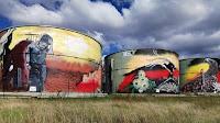 Wilton Water Tank Art by Joe Quilter