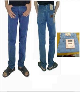 celana jeans, celana jeans wrangler, celana jeans standar pria