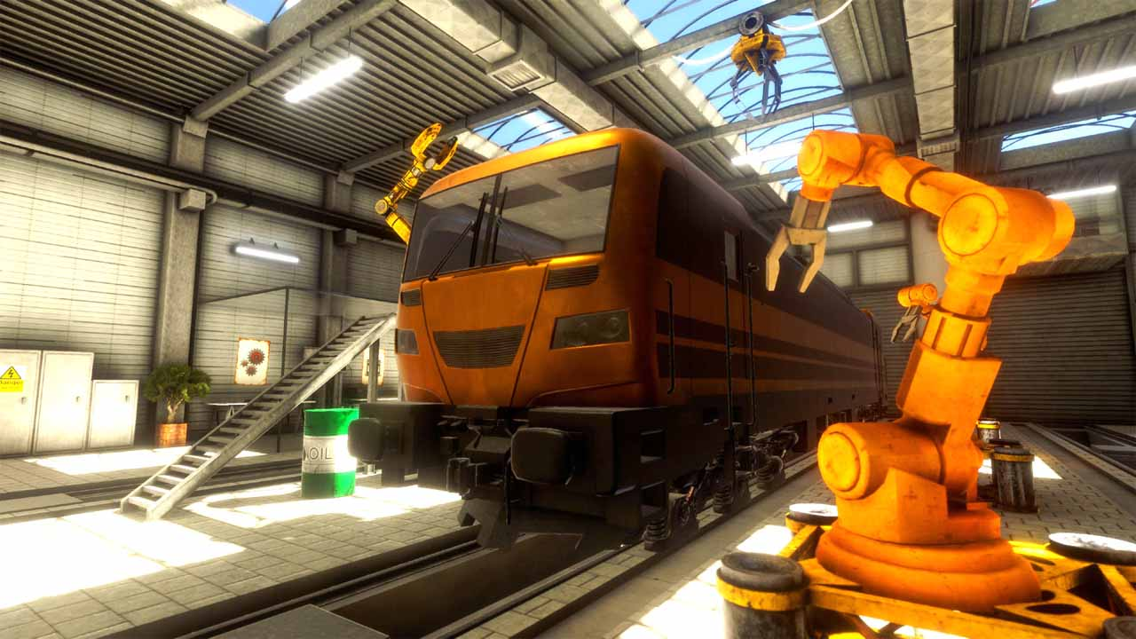 تحميل لعبة Train Mechanic Simulator 2017 برابط مباشر + تورنت