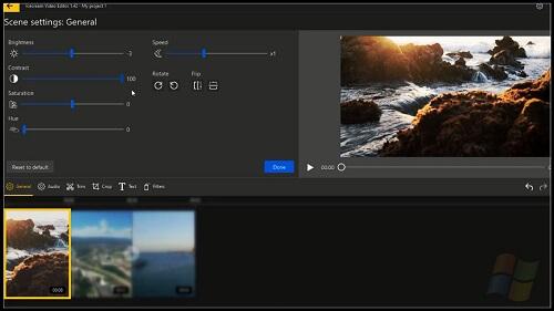 أفضل برنامج مونتاج مجاني icecream video editor يدعم العربية ودون علامة مائية