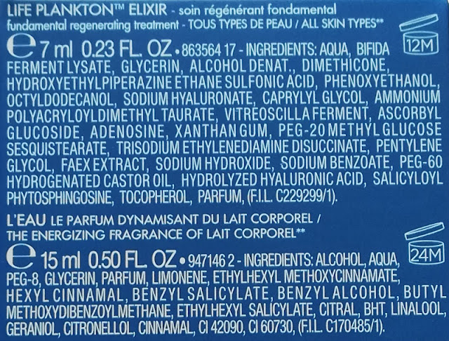 Serum Life Plankton Elixir skład
