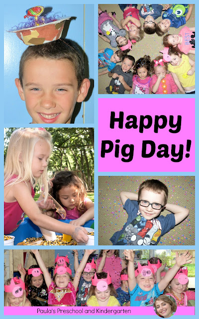 Happy Pig Day! Activities and ideas for celebrating the Elephant and Piggie books.