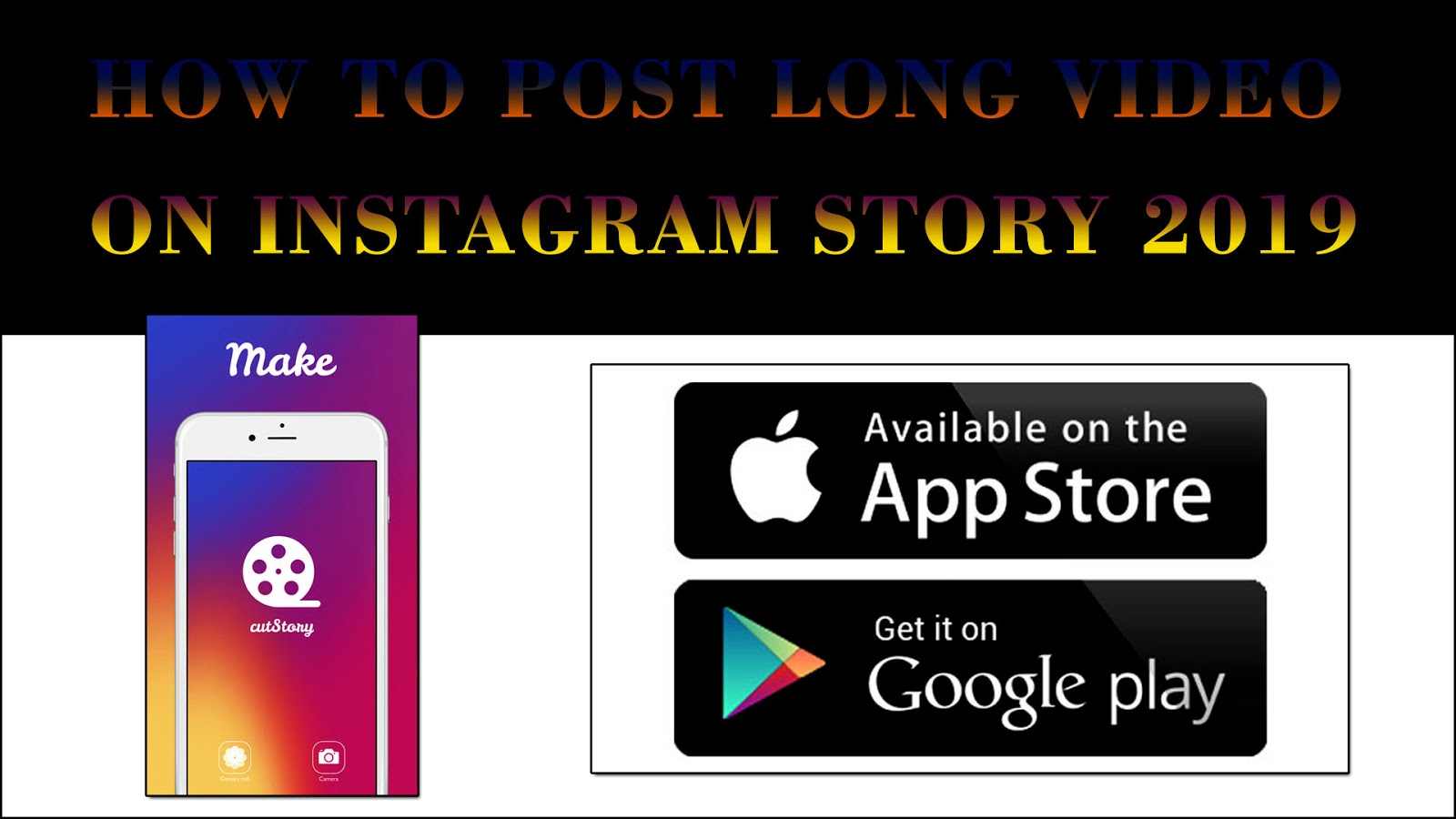 How to post a full video on instagram story