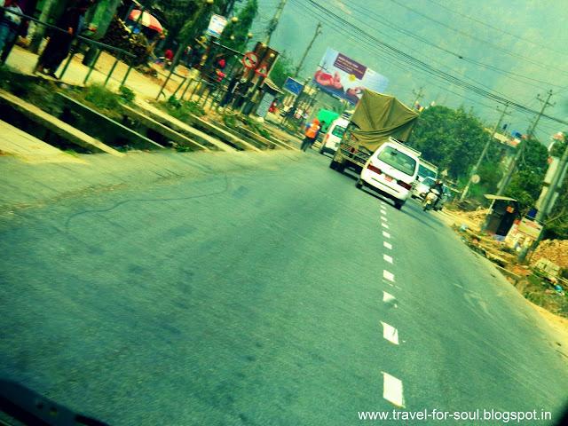 Road trip to Pokhara from Kathmandu