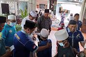 Yayasan Baitul Nurul Yatamaa Berkolaborasi Dengan Masjid Nurul Jamaal Menyantuni Anak Yatim Dan Dhuafa