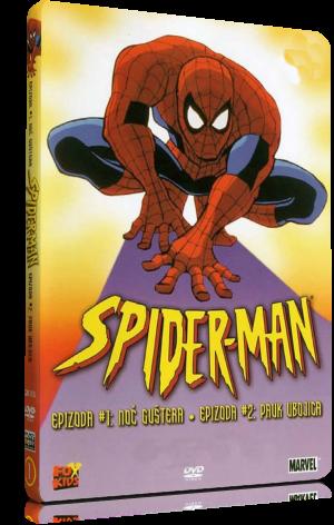 spider-man serie animada 90's caratula cover dvd box 3d